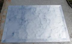 """The frieze """"silver"""""""