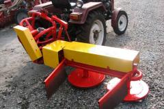 The mower (kosarka) hinged rotor KTP-1,35 for