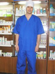 Мужской медицинский костюм, артикул 111Р