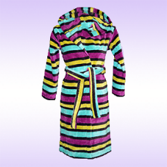Dressing gown of terry children's 1,5-16