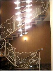 Glass ladder design