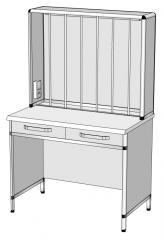 Стол титровальный СТ-1, 100х60х160 см.