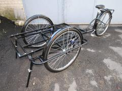 Cargo bicycle, three wheel bicycle