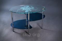 Table original of safety glass