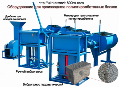 The equipment for production and filling of