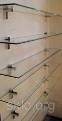 Glass regiments in the house and office from