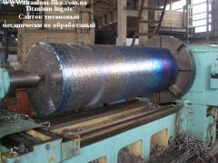 Ti6Al-4V titanium ingots