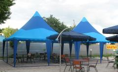 Tent for holidays, the presentations, banquets