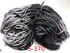 Cord of 5 mm polyester with a filler