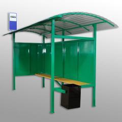 Остановка автобусная металлическая З №1