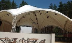 Awning design for discos