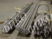 Titanic rolled bars of VT1-0 diameter are 50 mm