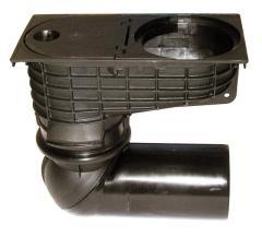 HL660/2 Минимакс-уличный трап для наружного приема воды из ливнестоков DN110/125 с морозоустойчивый, Австрия