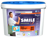 SD-54 SMILE®paint decorative with effect of