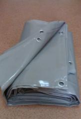 Tent polypropylene on the car