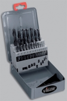 Drills. Set of drills of 1 - 10 mm 19 pieces