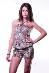 Комбез леопардовый XSA-1010-1