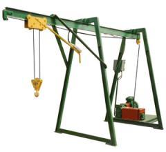 The crane in the K-2, K-3, K-4 window