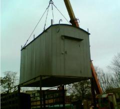 Module container for mobile operators