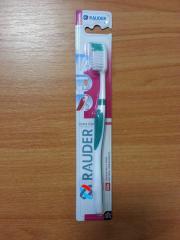 Зубные щетки ТМ RAUDER самая низкая цена от 1.67 грн