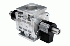 Клапаны электромагнитные трехпозиционные с 1 регулятором расхода серии ВН, ВФ