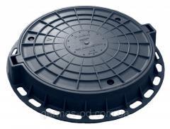 Люк пластиковый Легкий, черный, вес 16кг, нагрузка