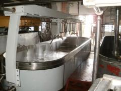 Ванны сыродельные с подпрессовкой пласта