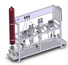 Hydrostations of any capacities and any sizes