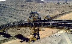Conveyors tape for open mining operations