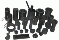 Crucibles graphite carbide silicon uglekompozitny