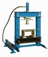 Production of hydraulic press