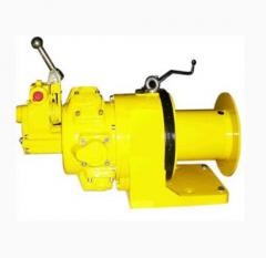 Cargo pneumatic winches with a loading capacity