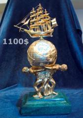 Souvenir bracket clock, vip of c36