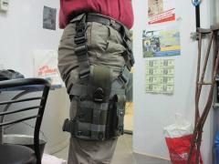 Кобура тактическая набедренная для пистолета АПС