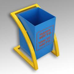 Ballot box metal UV 2
