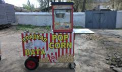 Cart popcorn figured cotton candy