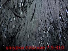 Laces shoe flat shir. 7 mm art. 7-310