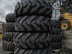 Tires to the JCB equipmen