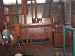 Установка газификации углеродсодержащего сырья в шнеке (УГУШ)