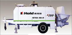 HOLD concrete pump