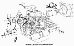 Электрооборудование двигателя для автомобилей