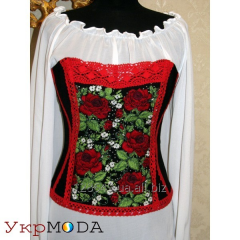 Embroidered Corset + Shirt (LD-№4)