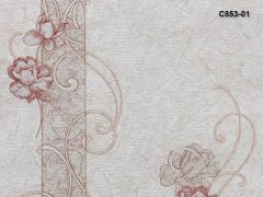 Wall-paper from the made foam B53,4 vinyl the
