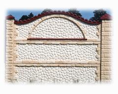Forme pentru producere paravane si garduri din