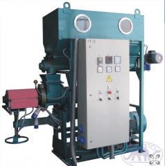 Extruder of EV-350 50 Bron