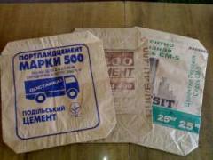 Мешки бумажные под цемент