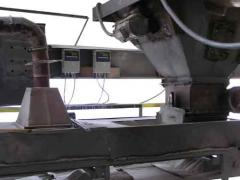Scales are conveyor electronic