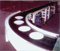 Tapes are conveyor rotary