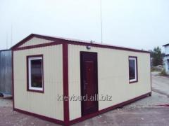 Бытовки для строителей-15м2