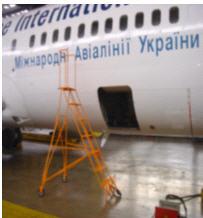 Step-ladder aviation STR-2300